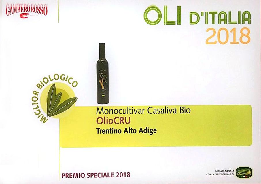 Miglior olio extravergine biologico
